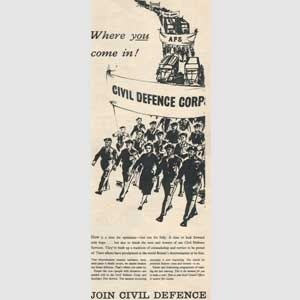 1955 Civil Defence Services