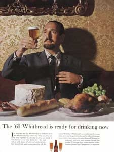 1963 Whitbread's Beer - vintage ad