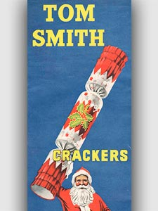 1953 Tom Smith Crackers - vintage ad