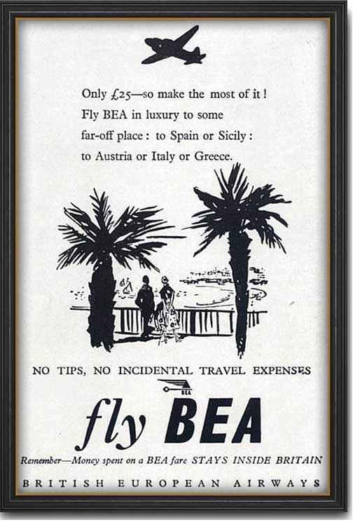 1952 BEA advert