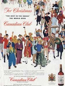 1954 Canadian Club Whisky - vintage