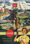 1950 Coca Cola 'play' USA