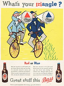 1955 Bass Beer Ad