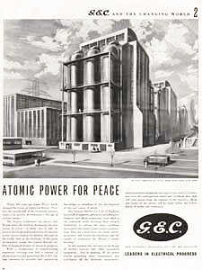 19555 General Electric Company - vintage ad