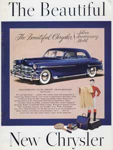 1949 Chrysler Silver Anniversary Model
