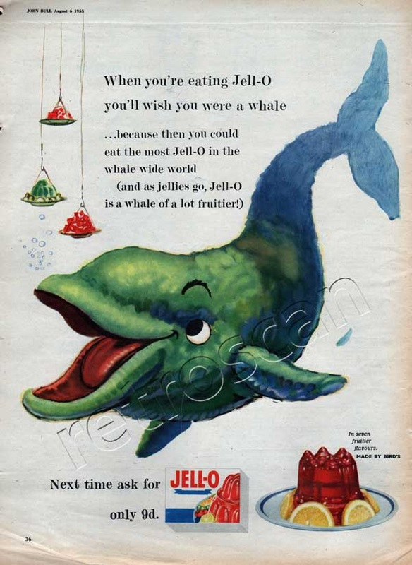 1955 Jell-O vintage ad