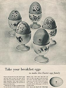 ​Egg Marketing Council - vintage ad