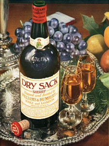 1960 Dry Sack Sherry
