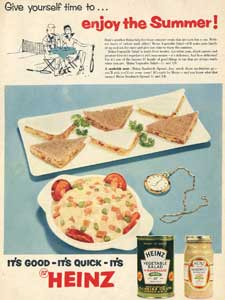 1955 Heinz Vegetable Salad