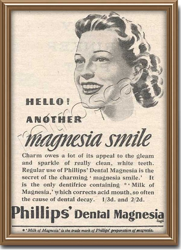 1947 vintage Phillips advert