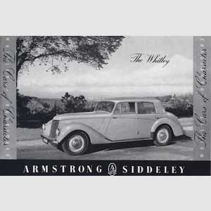 1952 Armstrong Siddeley vintage ad