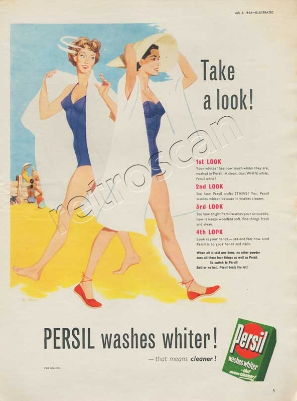 1954 Persil Washing Powder