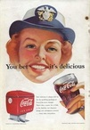 1952 Coca Cola 'you bet' USA