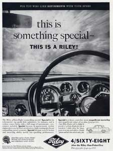 retro Riley advertising