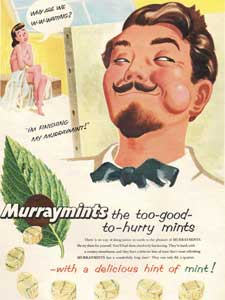 1955 Murraymints - Artist & Model