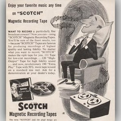 1955 Scotch Recording Tape