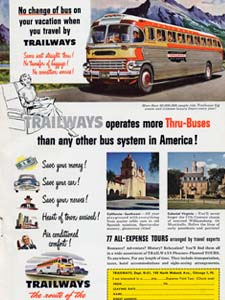 51 Trailway Buses