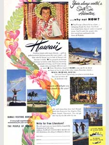 1951 Hawaii Tourist Bureau