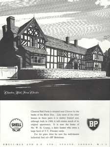 Classic BP petrol advert