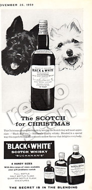 1959 Black & White Scotch Whisky