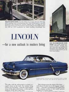 1952 Lincoln Cars
