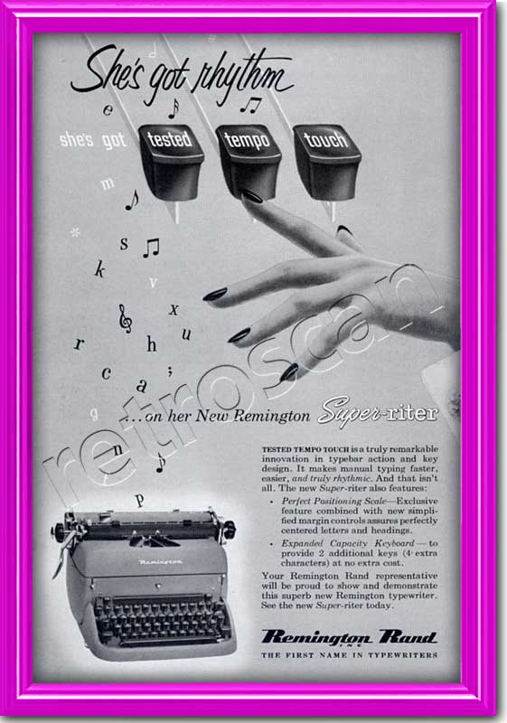1953 Remington Rand advert