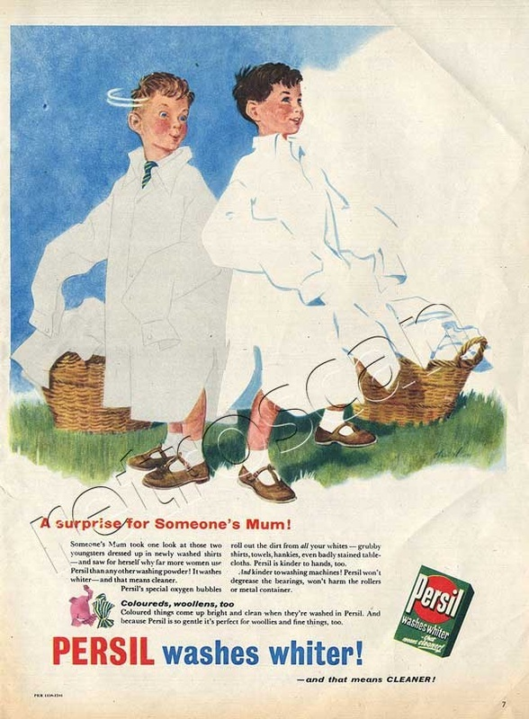 1956 Persil Washing Powder
