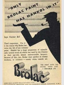 1936 Brolac Paints