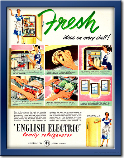 1952 English Electric - framed preview retro