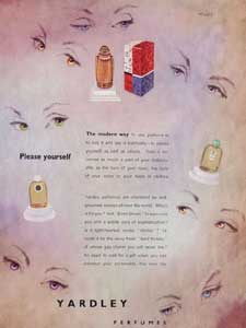 1951 Yardley Perfumes