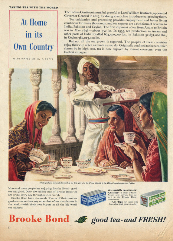 1956 Brooke Bond Tea - unframed