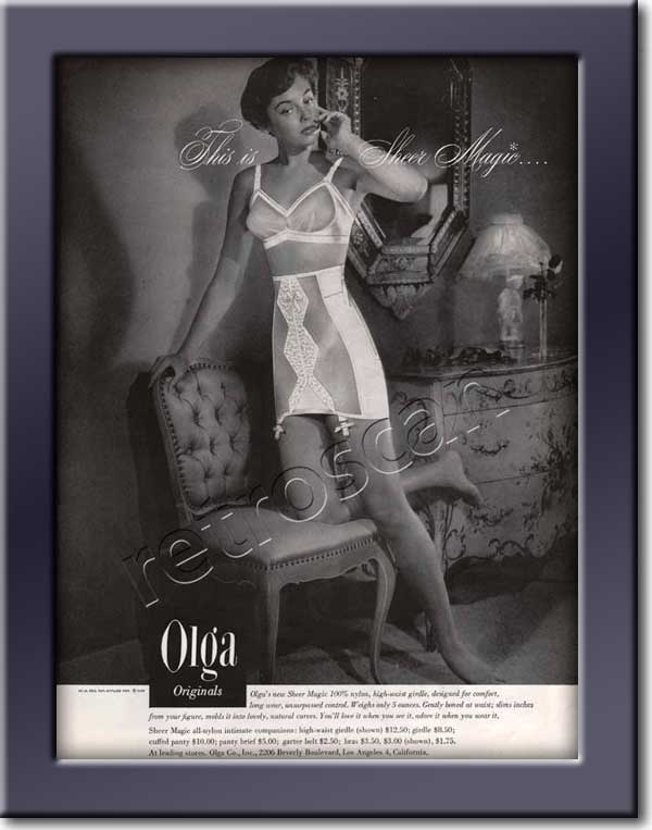 Olga Originals Lingerie - framed preview