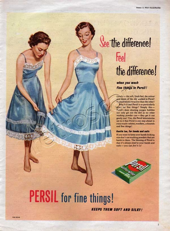 1955 Persil Washing Powder - unframed