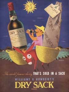 1959 Dry Sack Sherry