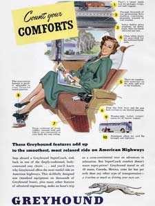 1949 Greyhound Bus