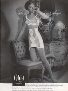 1949 Olga Originals - vintage ad
