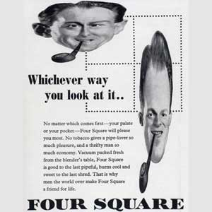 1951 Four Square Tobacco