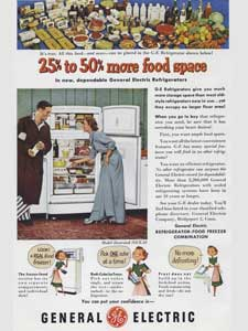 1951 General Electric Fridge