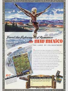 1951 New Mexico Tourist Bureau