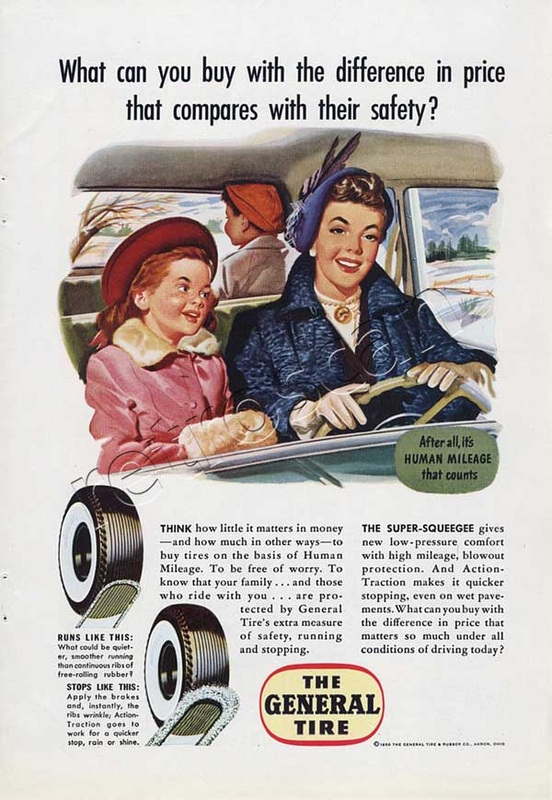 1950 General Tire - unframed