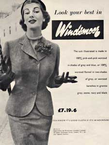 1953 Windsmoor Fashions