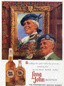1959 Long John Scotch Whisky - vintage