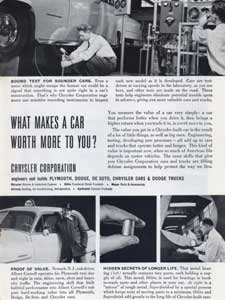 1952 Chrysler Corporation