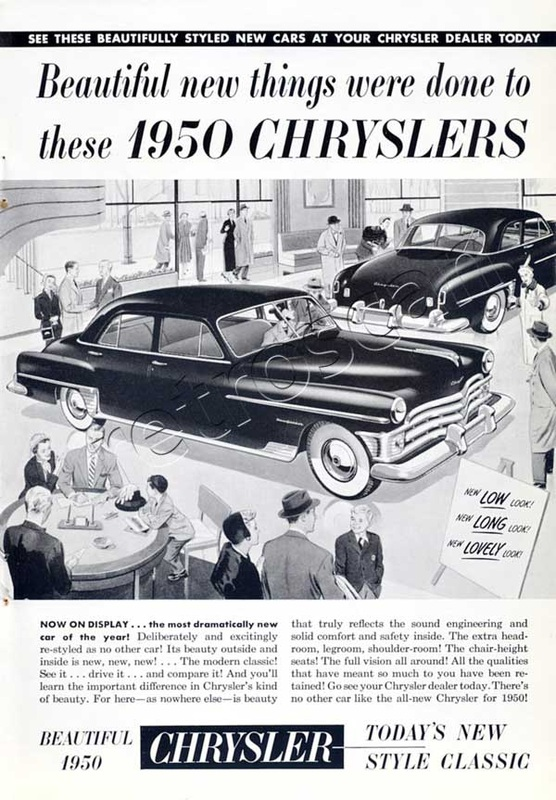 1950 Chrysler - unframed