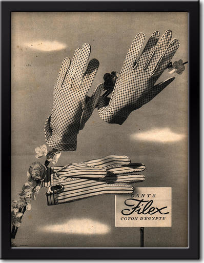 1954 Gants Filex framed preview