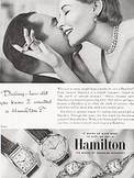 1953 ​Hamilton Watches vintage ad