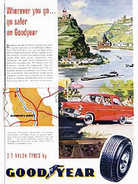 1962 Good Year Tyres Vintage Ad