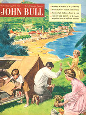1955 August John Bull Vintage Magazine family camping vacation