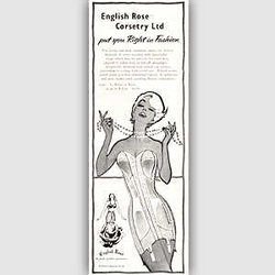 1958 English Rose - vintage ad