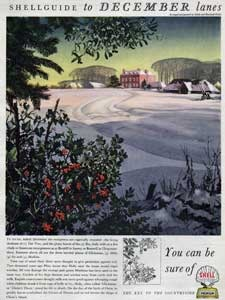 1954 Shell Guide to Country Lanes December